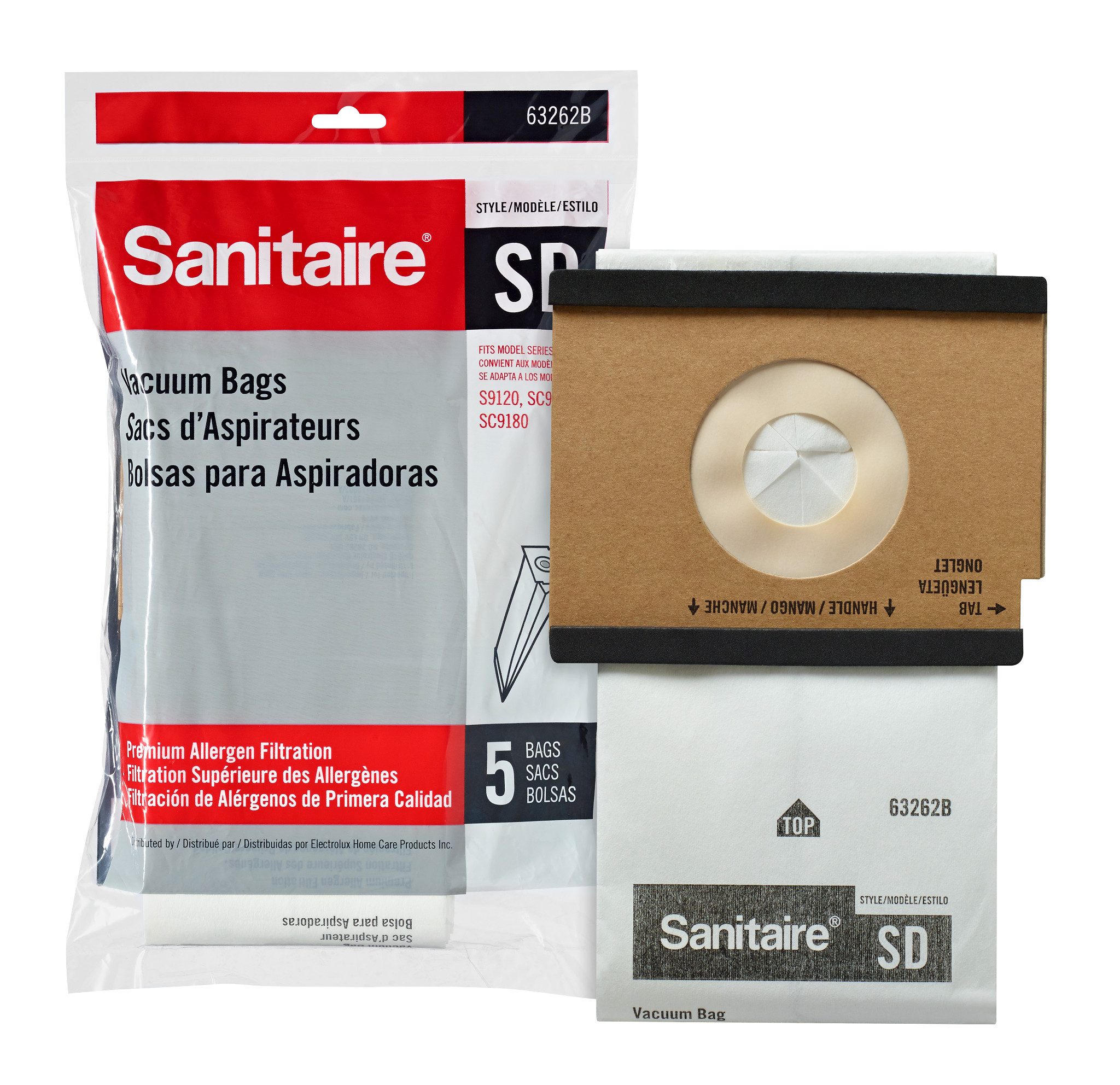 63262b 10 Sd Box Of 50 Dust Bags
