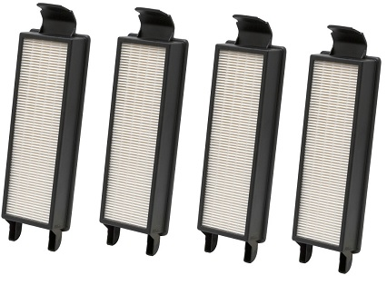61840-4 Washable HEPA filter 4-Each Master Box