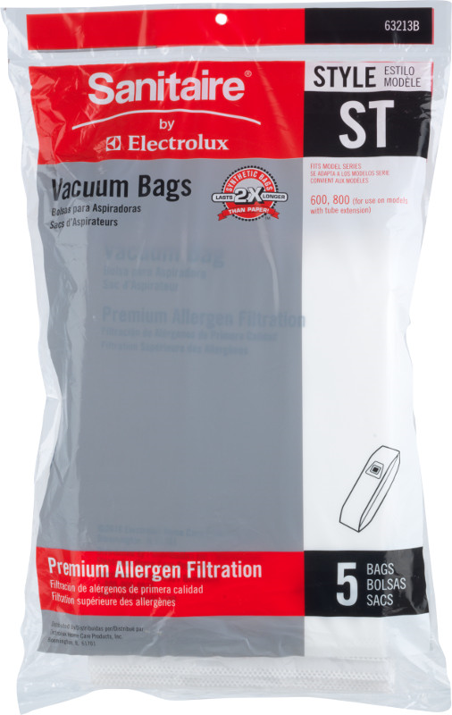 63213B-10 Premium Allergen ST Bag  (Box of 50 Dust Bags)