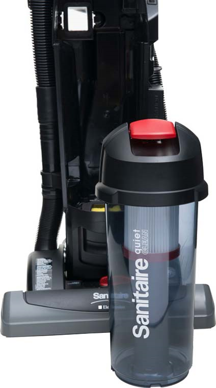 sc5845 hepa bagless commercial vacuum from sanitaire by electrolux. Black Bedroom Furniture Sets. Home Design Ideas
